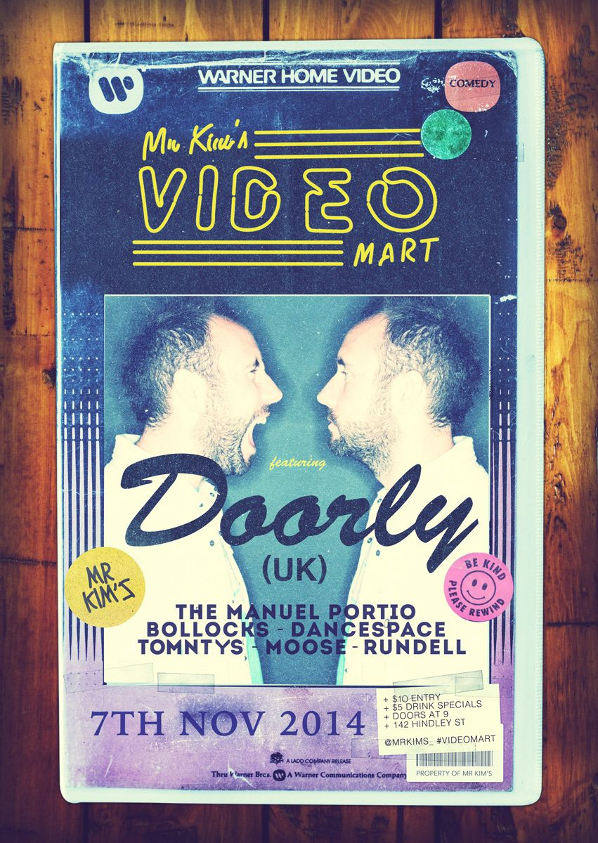 Doorly Mr Kims 2014