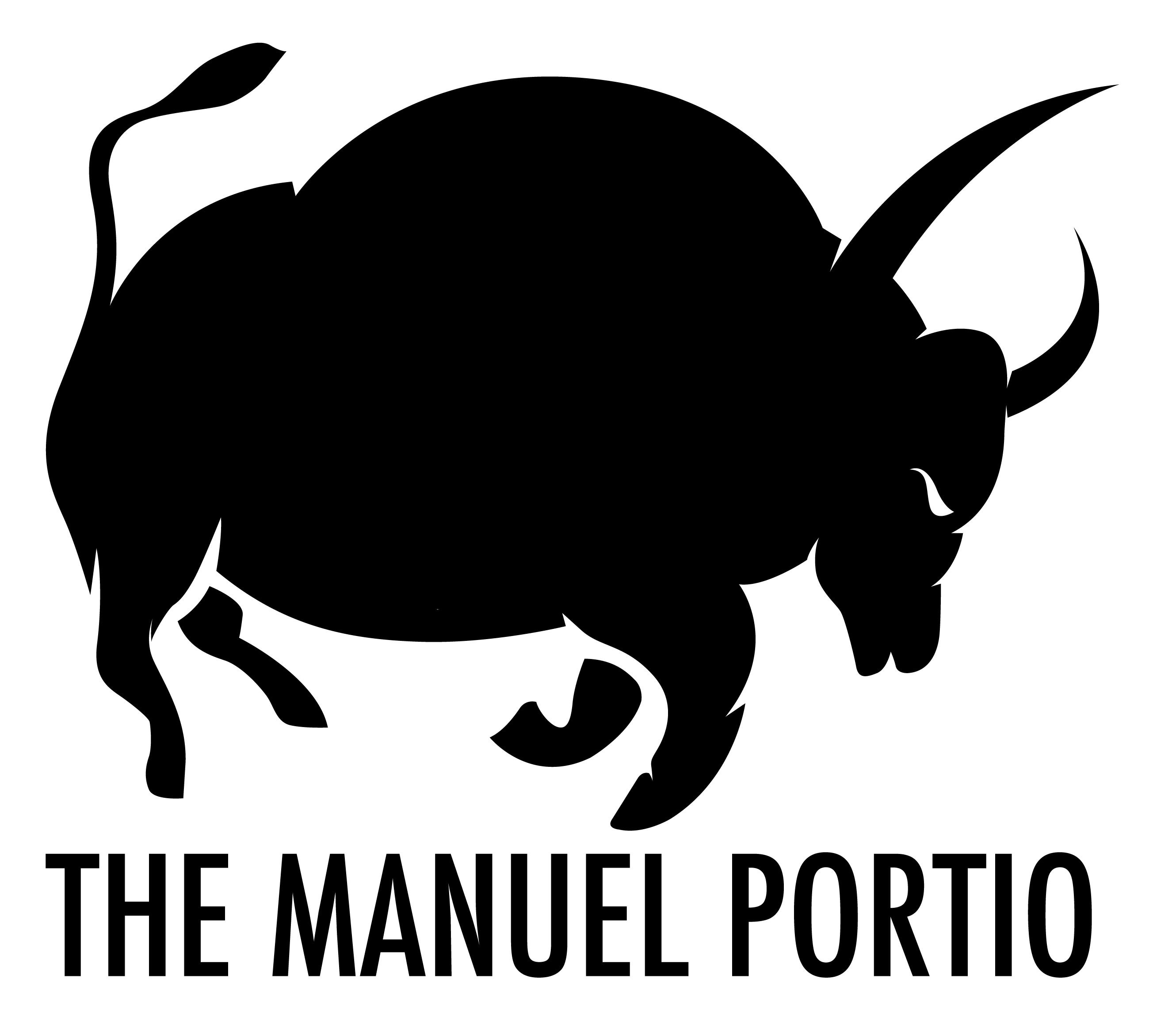 The-Manuel-Portio-Futura-Sticker-Black-Bull