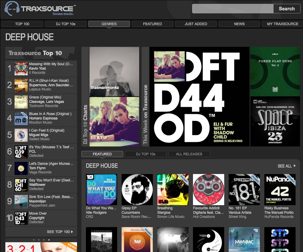 traxsource featured risky business